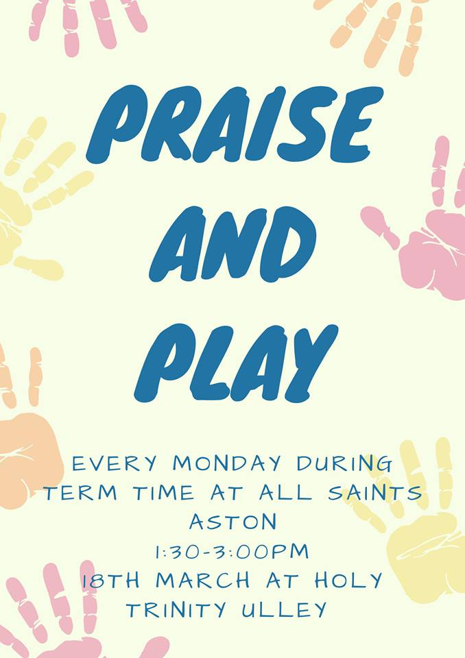 Praise and Play Poster